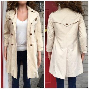 Vintage London Fog trench coat jacket